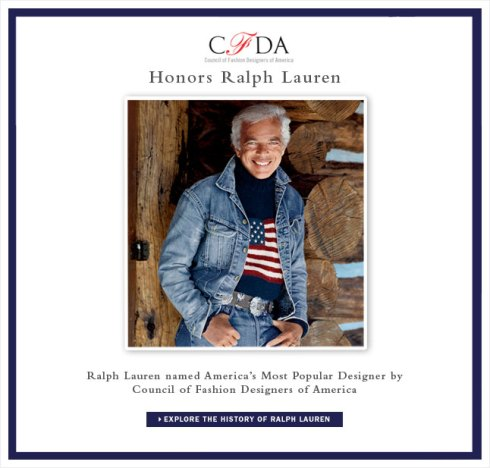 America's Most Popular Designer - Ralph Lauren